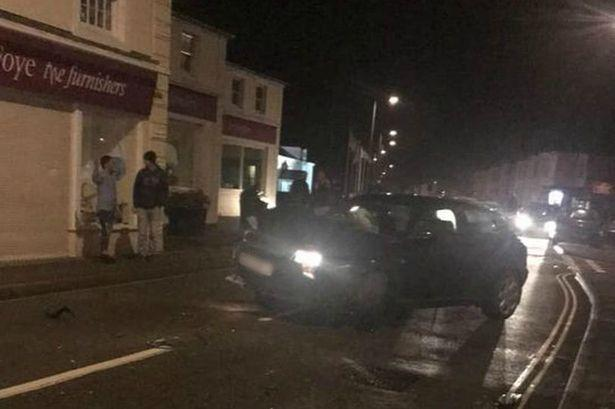 The incident in Hayle